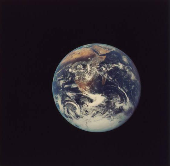 De aarde in het heelal